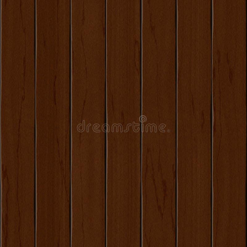 Высококачественный деревянный безшовный конец текстуры вверх с естественной картиной иллюстрация вектора