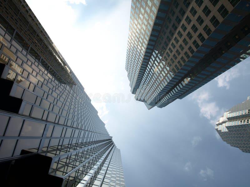 высокорослое города зданий самомоднейшее стоковая фотография
