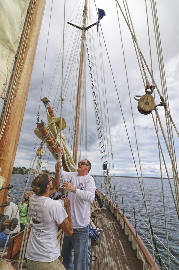 Высокорослые корабли Америка стоковые фотографии rf