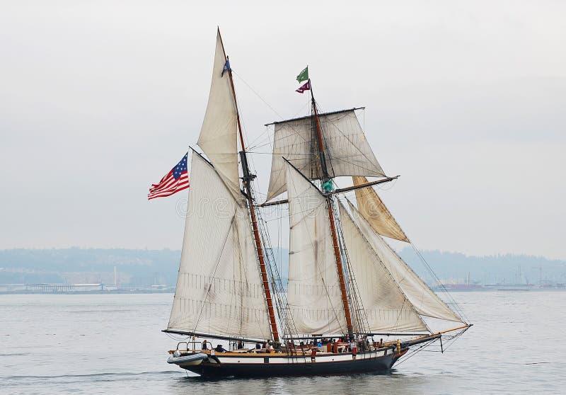 Высокорослый рысь корабля стоковое изображение