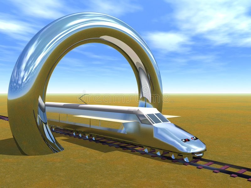 высокоскоростной поезд бесплатная иллюстрация