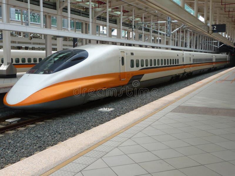 высокоскоростной поезд taiwan стоковое изображение rf
