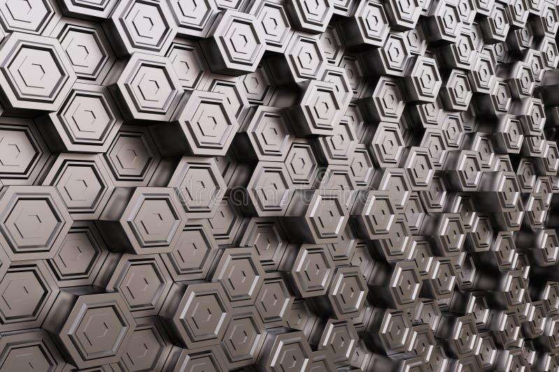 Высокотехнологичный куб стоковое фото