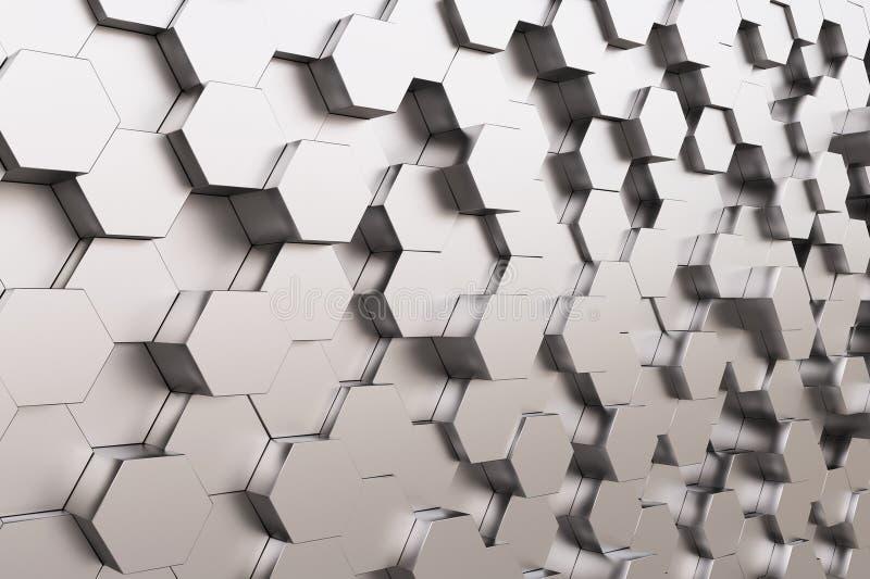 Высокотехнологичный куб стоковая фотография