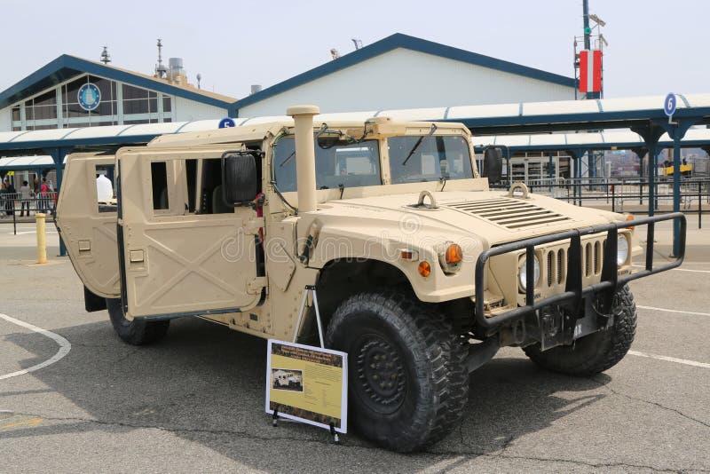 Высоко-подвижность особых операций M1165A1, универсальное колесное транспортное средство стоковое фото rf
