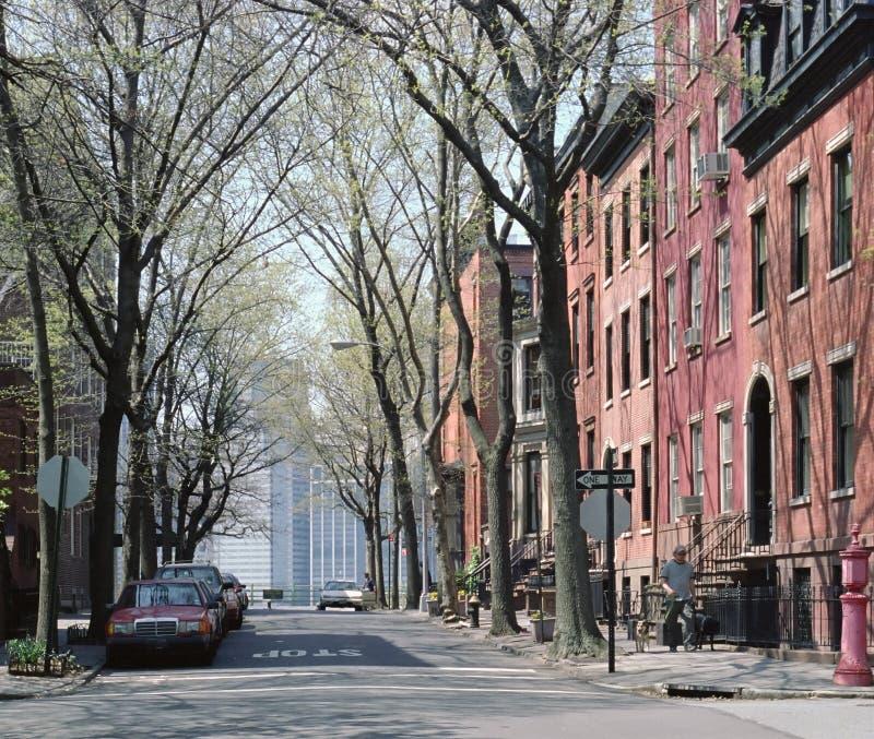 высоты New York brooklyn стоковые фотографии rf