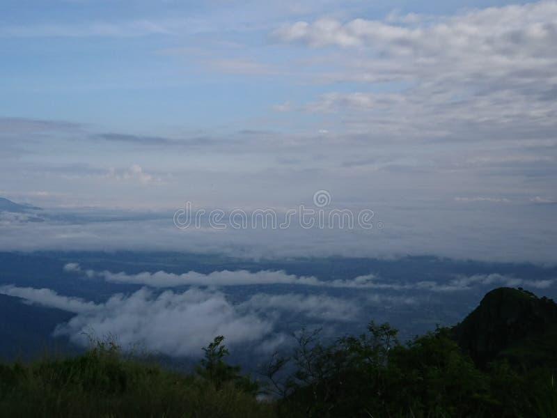 Высоченный на Doi Luang Tak стоковое изображение