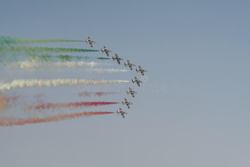 Выставка авиации стоковые изображения