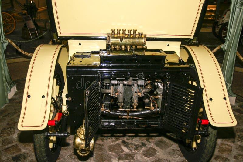 Выставка автомобилей Пежо на музее Пежо в Sochaux Франции стоковое фото
