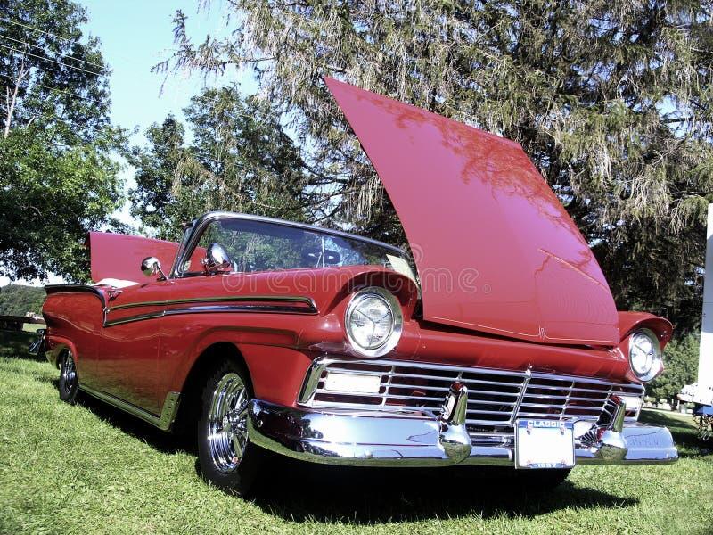 выставка автомобиля классицистическая стоковые фотографии rf