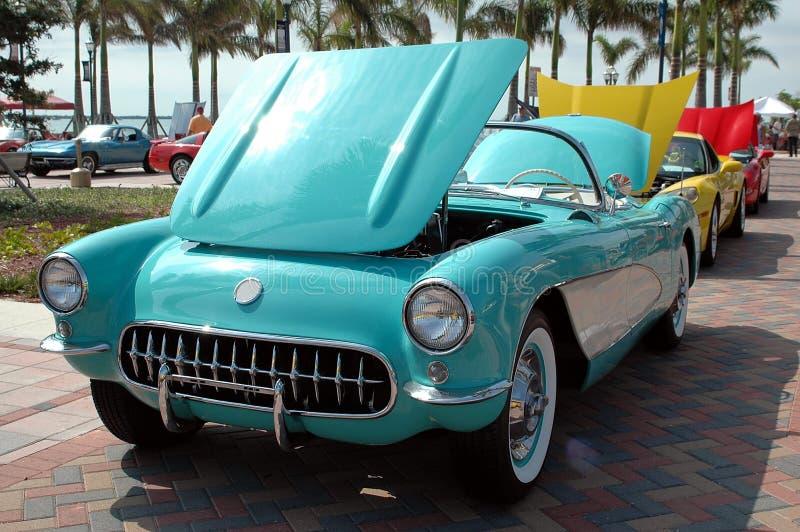 выставка автомобиля стоковое изображение rf