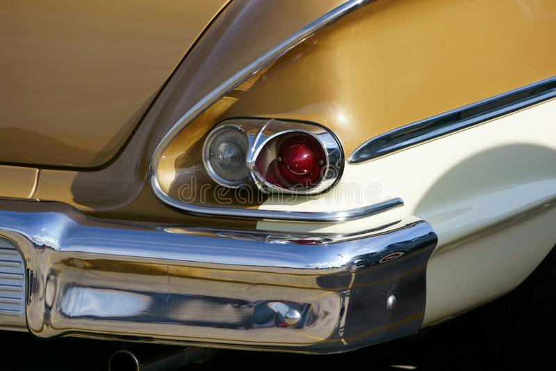 Выставка 1958 автомобиля Chevy стоковое изображение rf