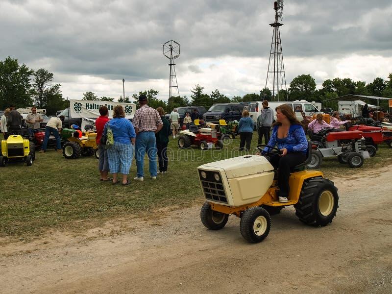 Выставка античных тракторов Шоу трактора Мах Agreecultural стоковая фотография rf