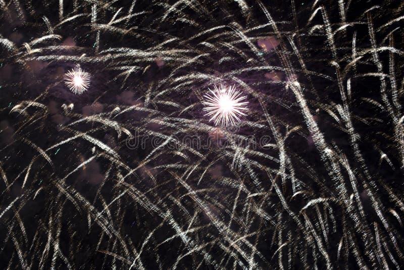 Выставка ` ветрил шарлаха ` торжества во время фестиваля ` белых ночей ` в StPetersburg, России стоковая фотография