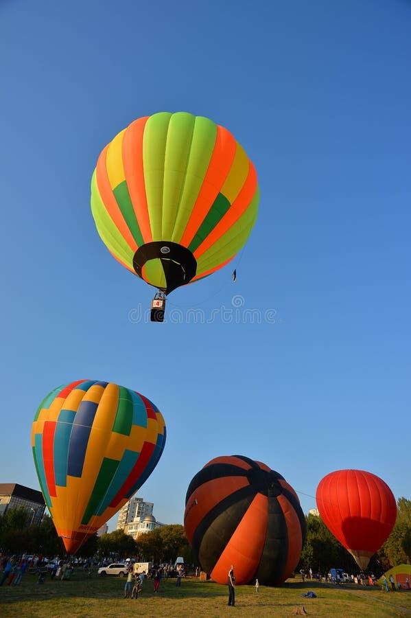 Выставка воздушного шара стоковое фото
