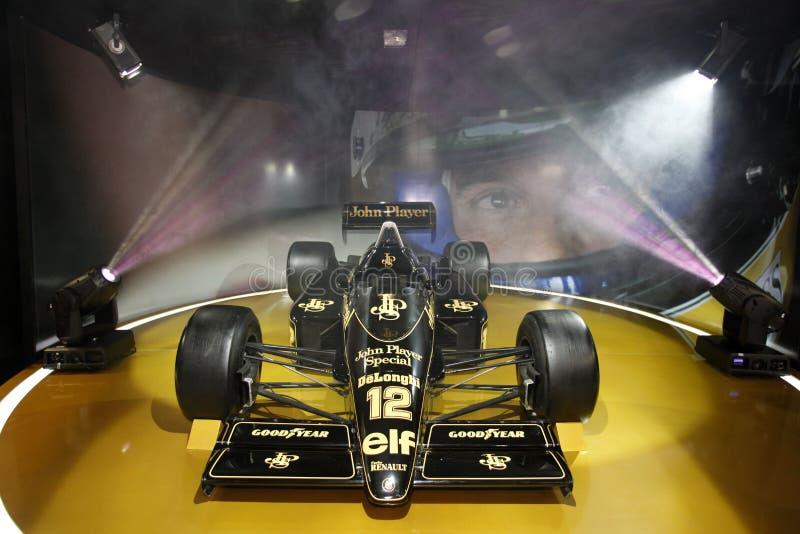 F1 лотос JPS 98T, 1986 стоковое изображение