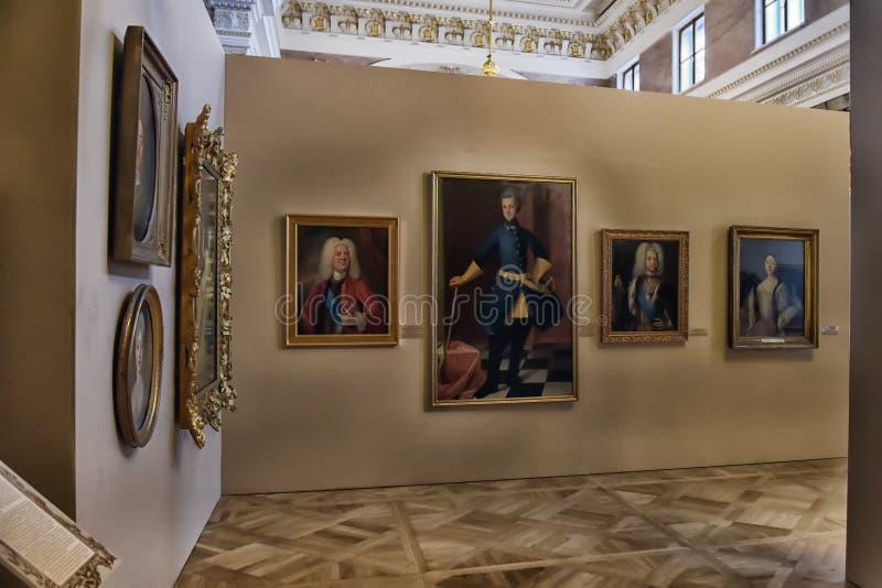 Выставка красить Питер большой Времяе и место стоковая фотография