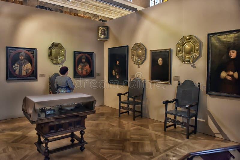 Выставка красить Питер большой Времяе и место стоковые изображения rf