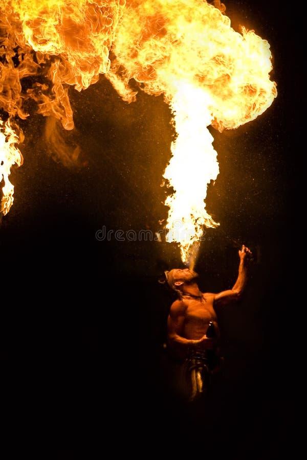 выставка пожара стоковые изображения rf