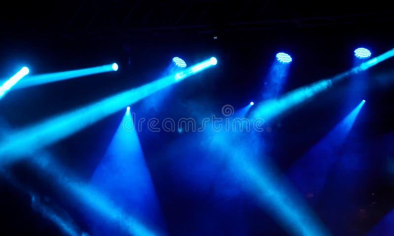 Выставка света концерта стоковые фото