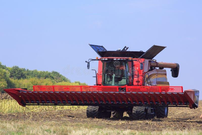 Выставка сельскохозяйственной техники в области 9-ое сентября 2015 Stepovaya Киева стоковое фото rf