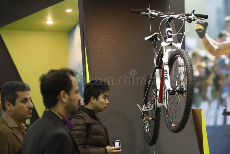 выставка цикла стоковое фото
