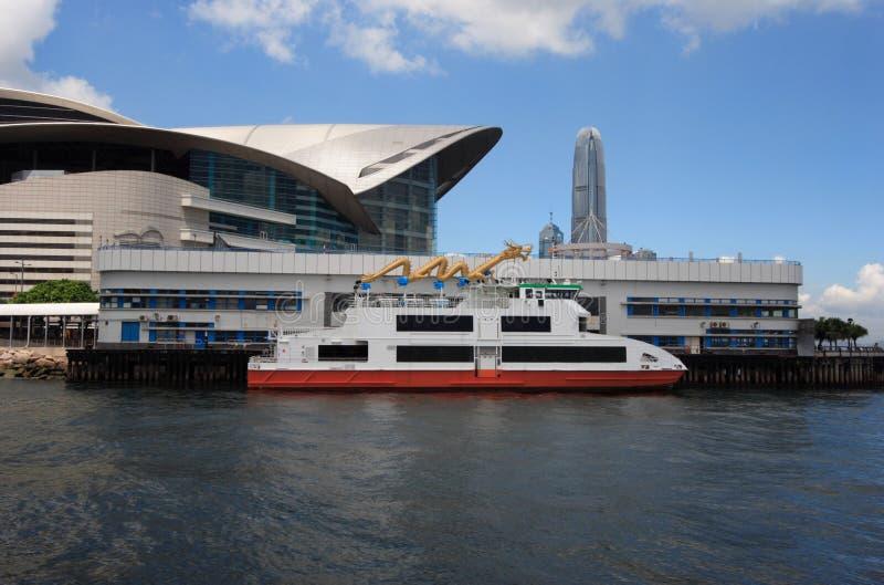 выставка Hong Kong конвенции центра стоковое фото rf