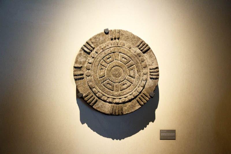 Выставки в Национальном музее антропологии, Мехико стоковые изображения rf