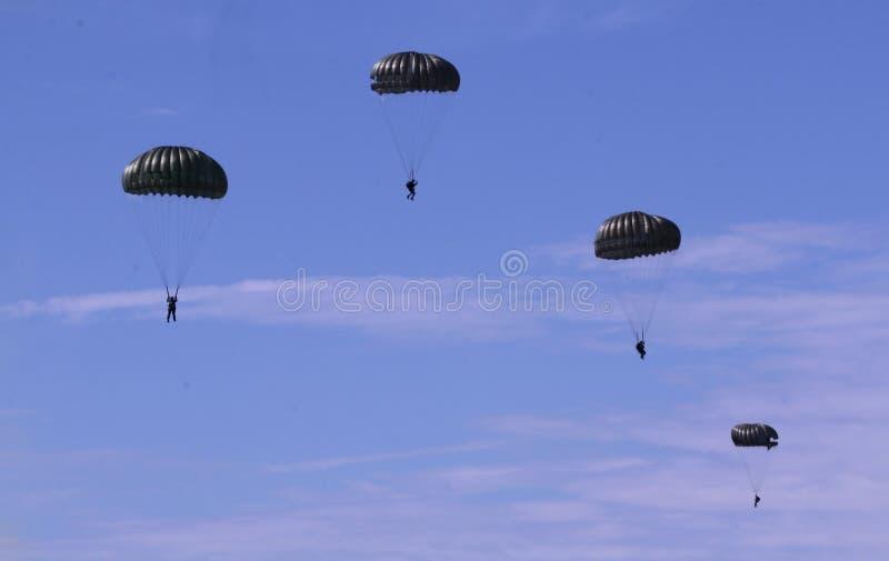 Выставки королевских малайзийских военновоздушных сил воздушнодесантные стоковая фотография
