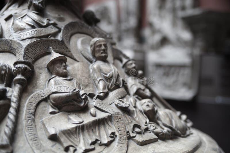 Выставочный зал музея Виктории и Альберта стоковая фотография