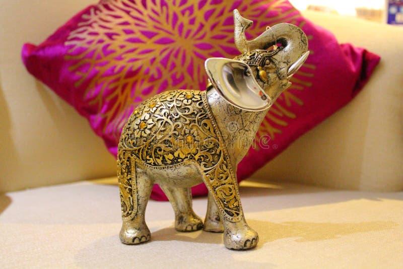 Выставочный образец слона стоковое изображение