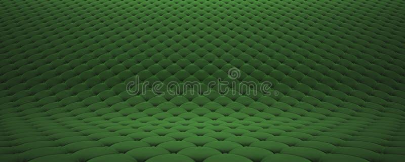 Выстеганная поверхность ткани Праздничный зеленый корд Вариант 2 бесплатная иллюстрация