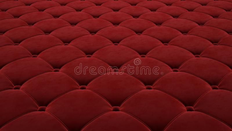 Выстеганная поверхность ткани Праздничный красный корд Вариант 1 бесплатная иллюстрация