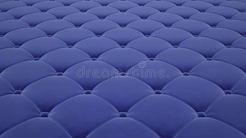 Выстеганная поверхность ткани Светлый - голубой бархат Вариант 1 иллюстрация штока