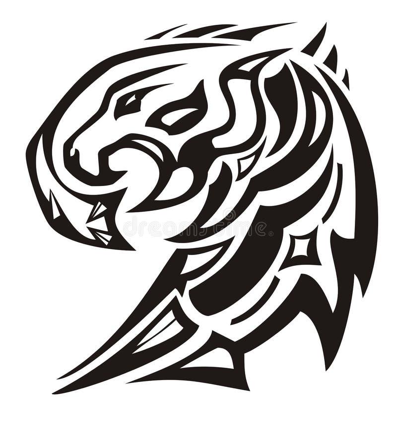 Выступленная голова орла с внутренностью льва главной иллюстрация штока