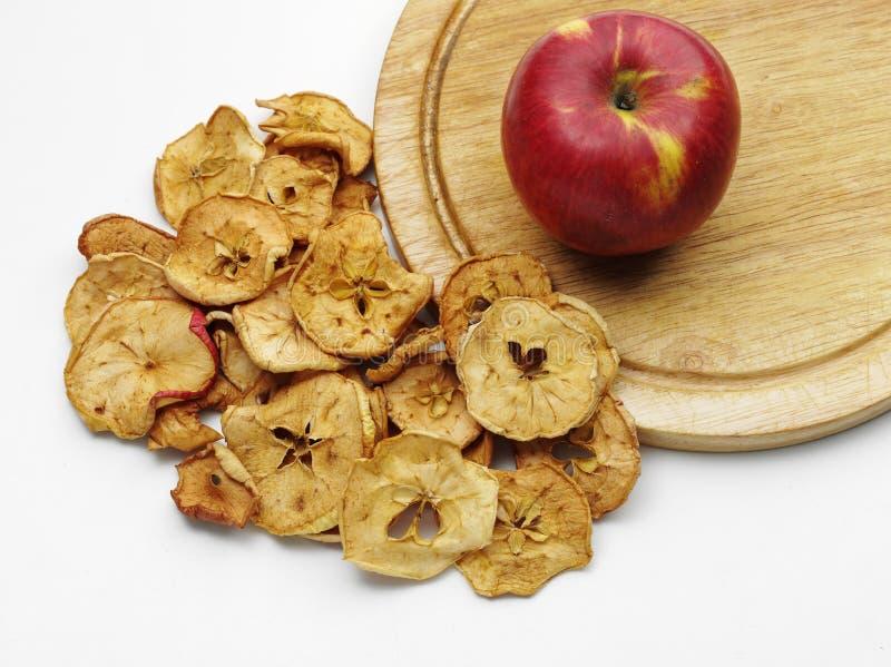 Высушенное яблоко стоковое изображение rf