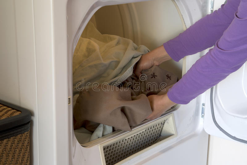 Высушенные одежды стоковое изображение rf