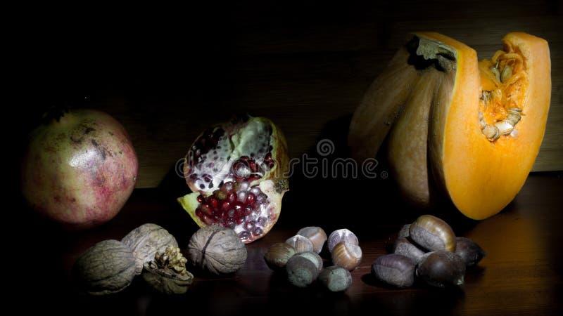 Высушенные плоды сезона осени стоковое фото rf