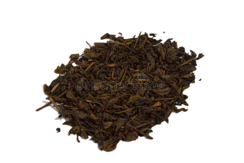 высушенный чай стоковое изображение