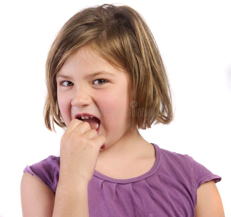 Вытягивать зубы стоковая фотография