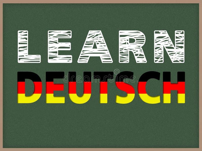 Выучите Deutsch стоковые изображения rf