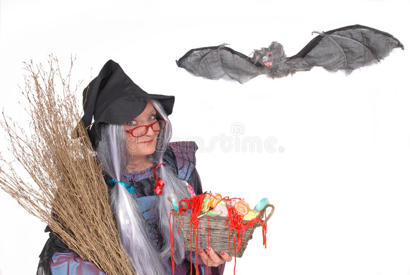 выходка обслуживания halloween стоковая фотография