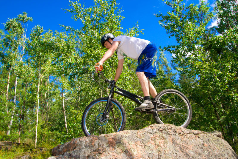 выходка bike весьма стоковое фото rf