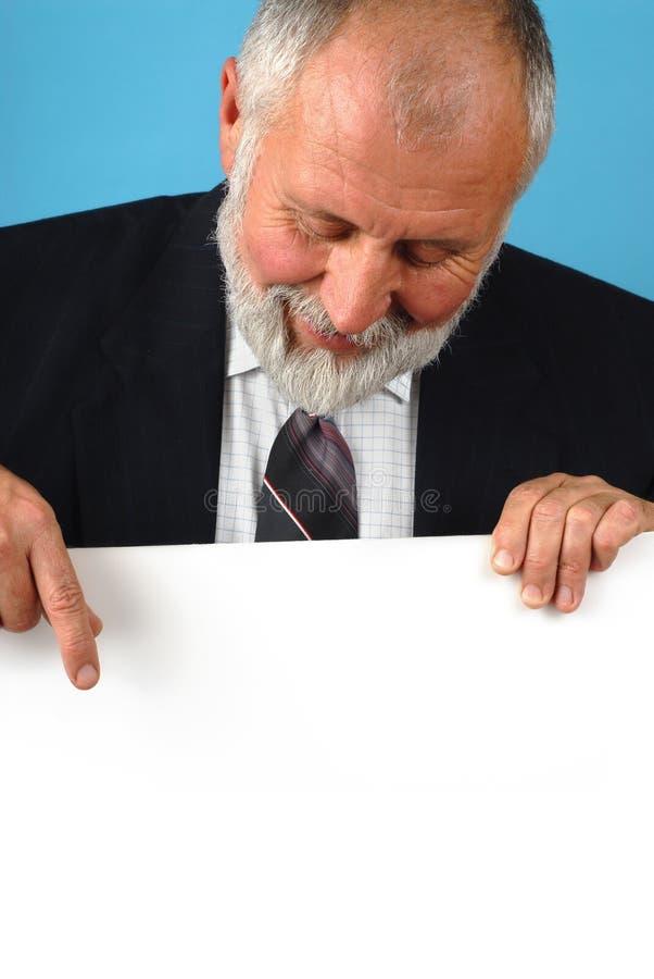 выход на пенсию плаката стоковое изображение rf