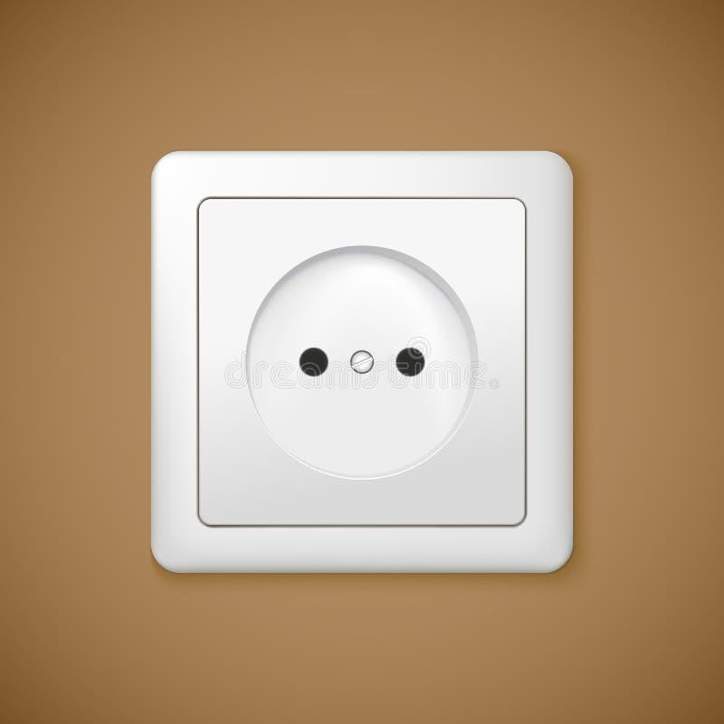 Download выход крупного плана электрический Иллюстрация вектора - иллюстрации насчитывающей реалистическо, элемент: 40591555