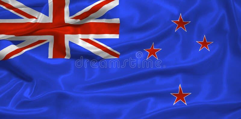 вычерченный флаг me3 Новая Зеландия бесплатная иллюстрация