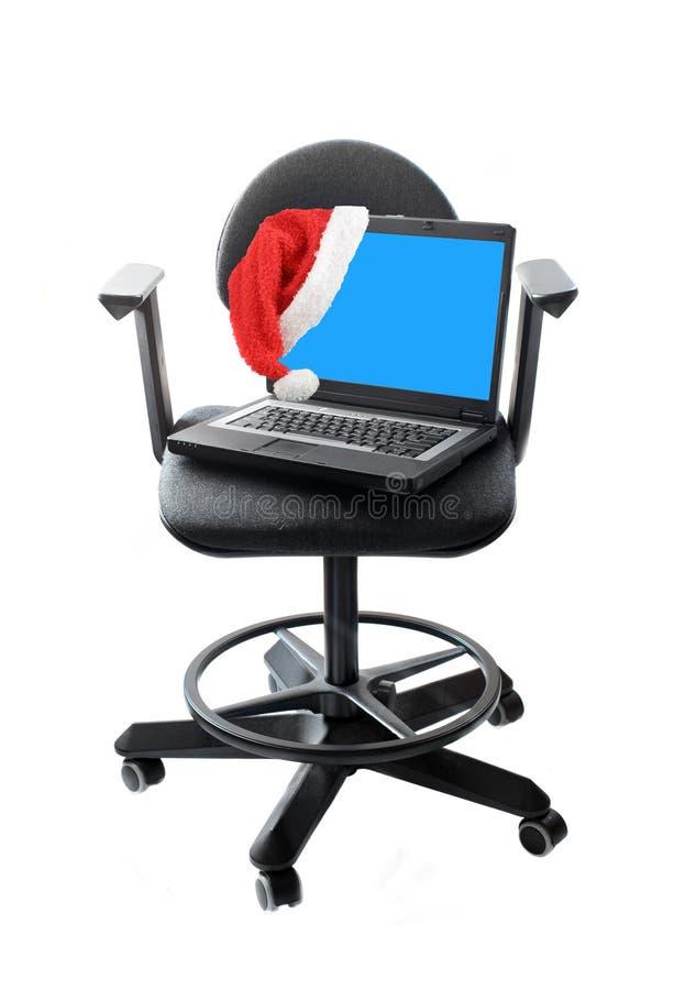 Download вычислительное бюро рождества Стоковое Изображение - изображение насчитывающей компьютер, экран: 6858355