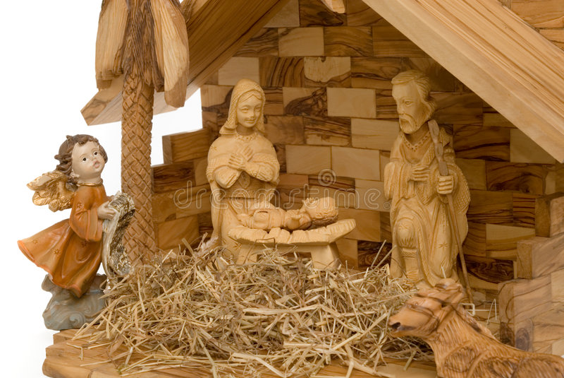 Download вычисляет место рождества деревянное Стоковое Фото - изображение насчитывающей верование, святейше: 6859560
