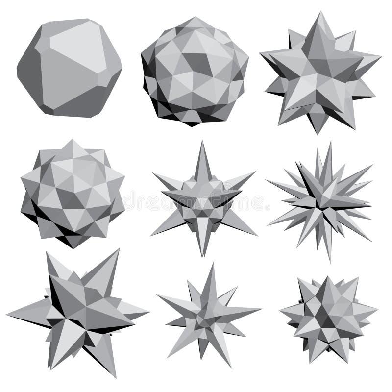 вычисляет геометрическое иллюстрация штока