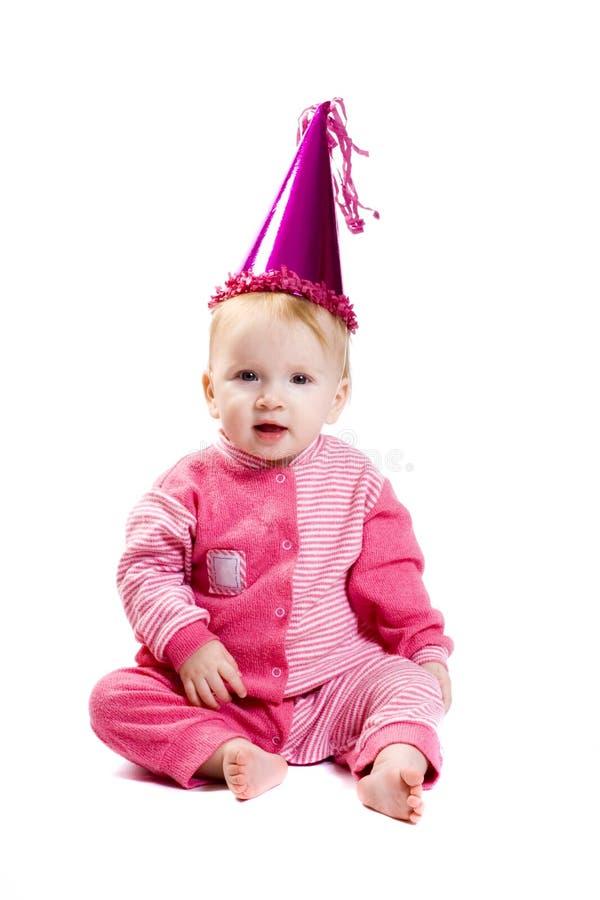 вычура платья младенца стоковое фото rf